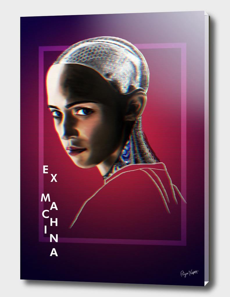 Ex Machina Glitch Poster
