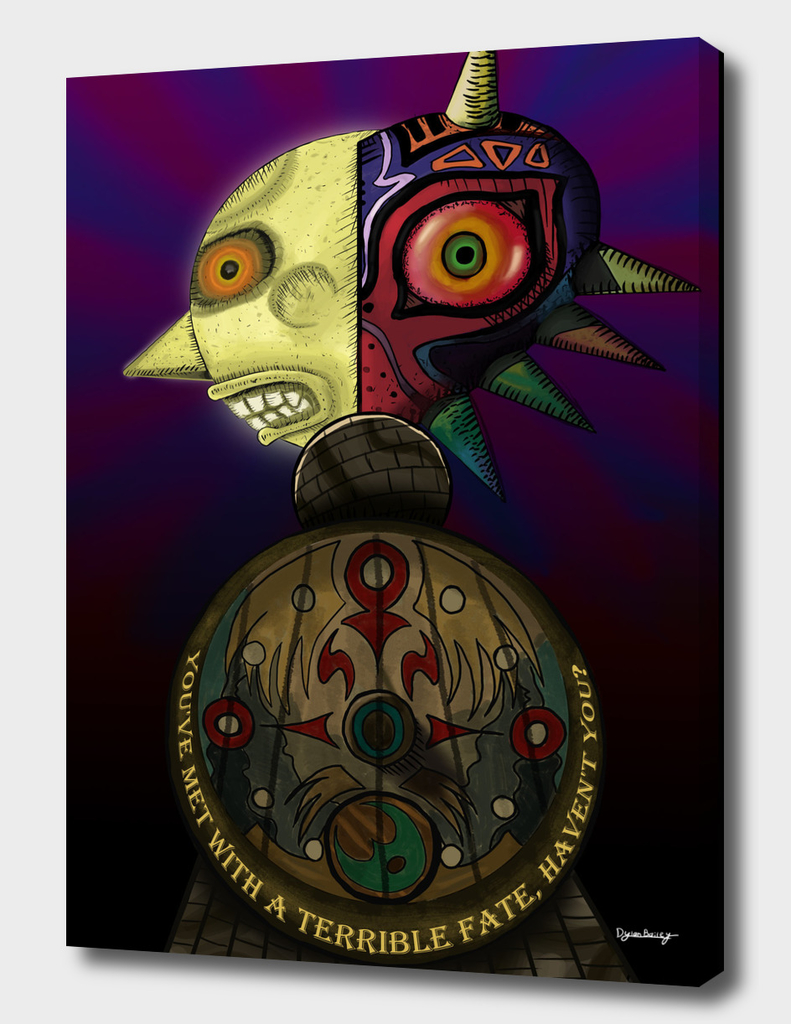 A Terrible Fate - Zelda: Majora's Mask Fan Poster