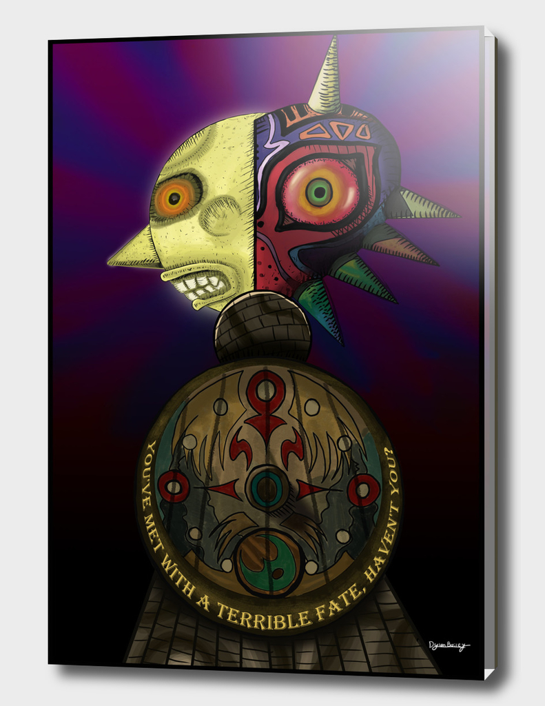 A Terrible Fate - Zelda: Majora's Mask Fan Poster
