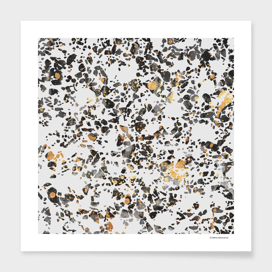 Gold Speckled Terrazzo