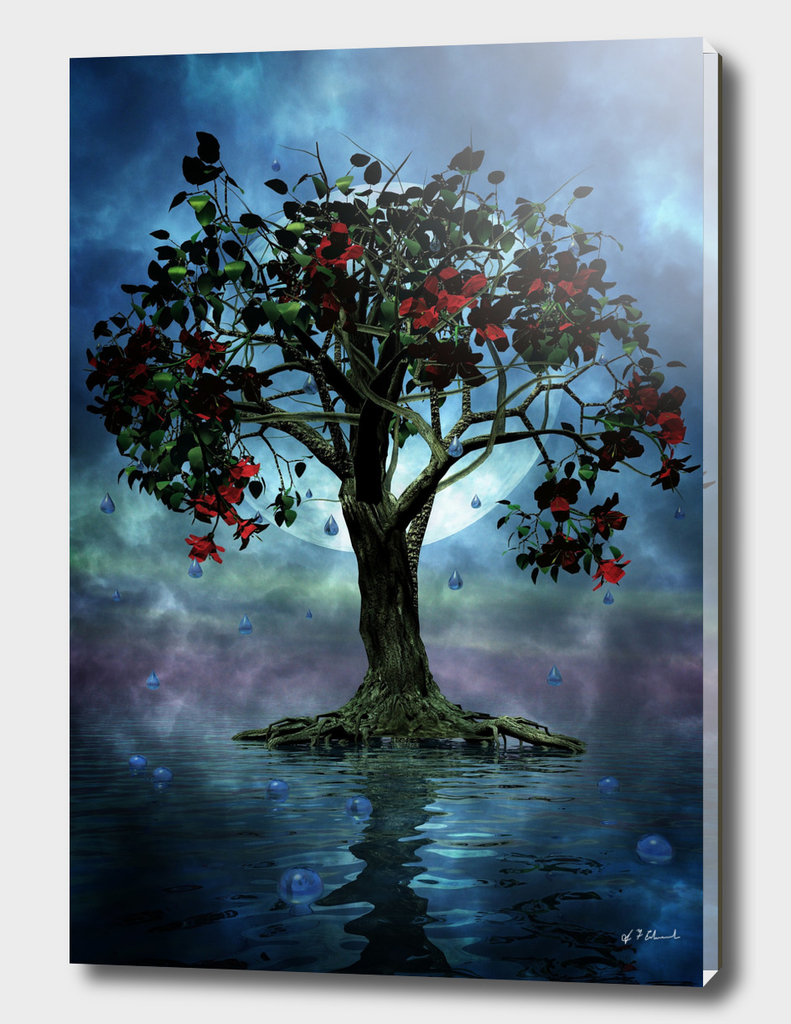 The tree that wept a lake of tears