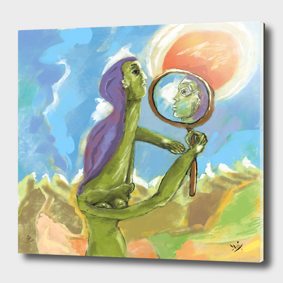 Der Spiegel der Welt