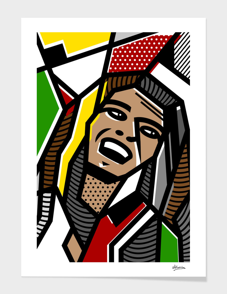 Abstracts 101: Bob Marley