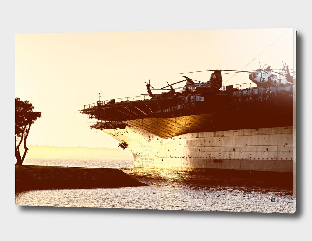 USS Midway Vintage