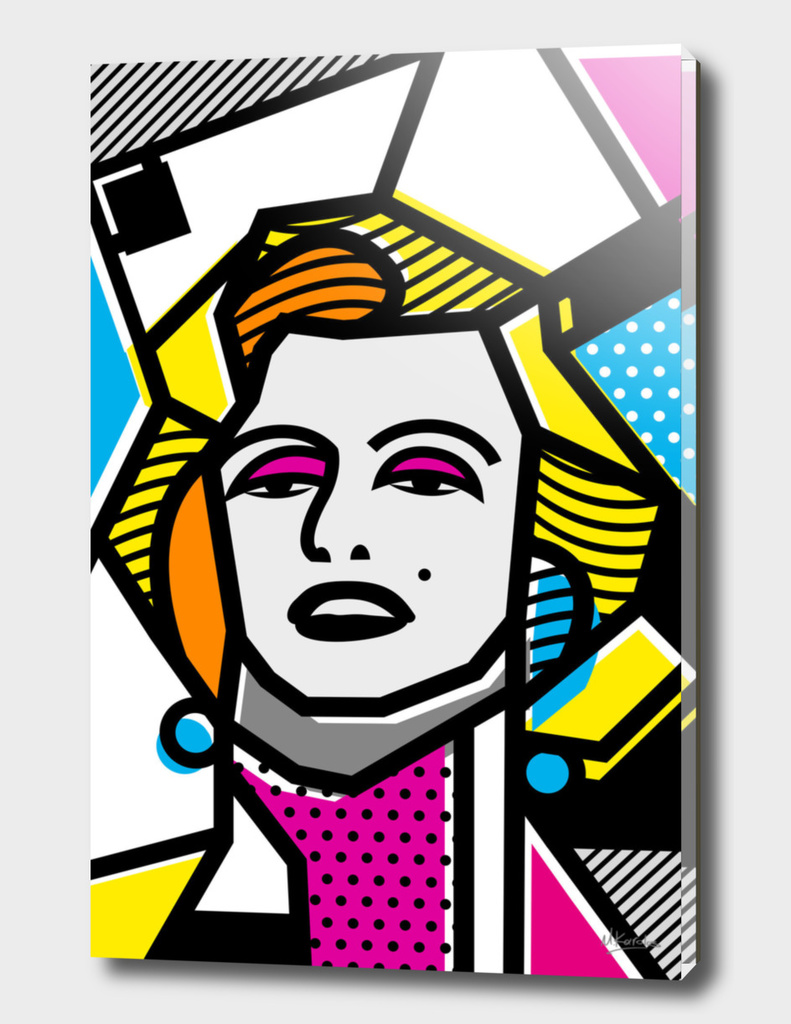 Abstracts 101: Marilyn Monroe