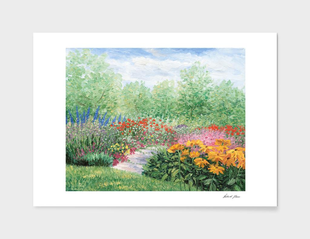 Impressionistic Garden
