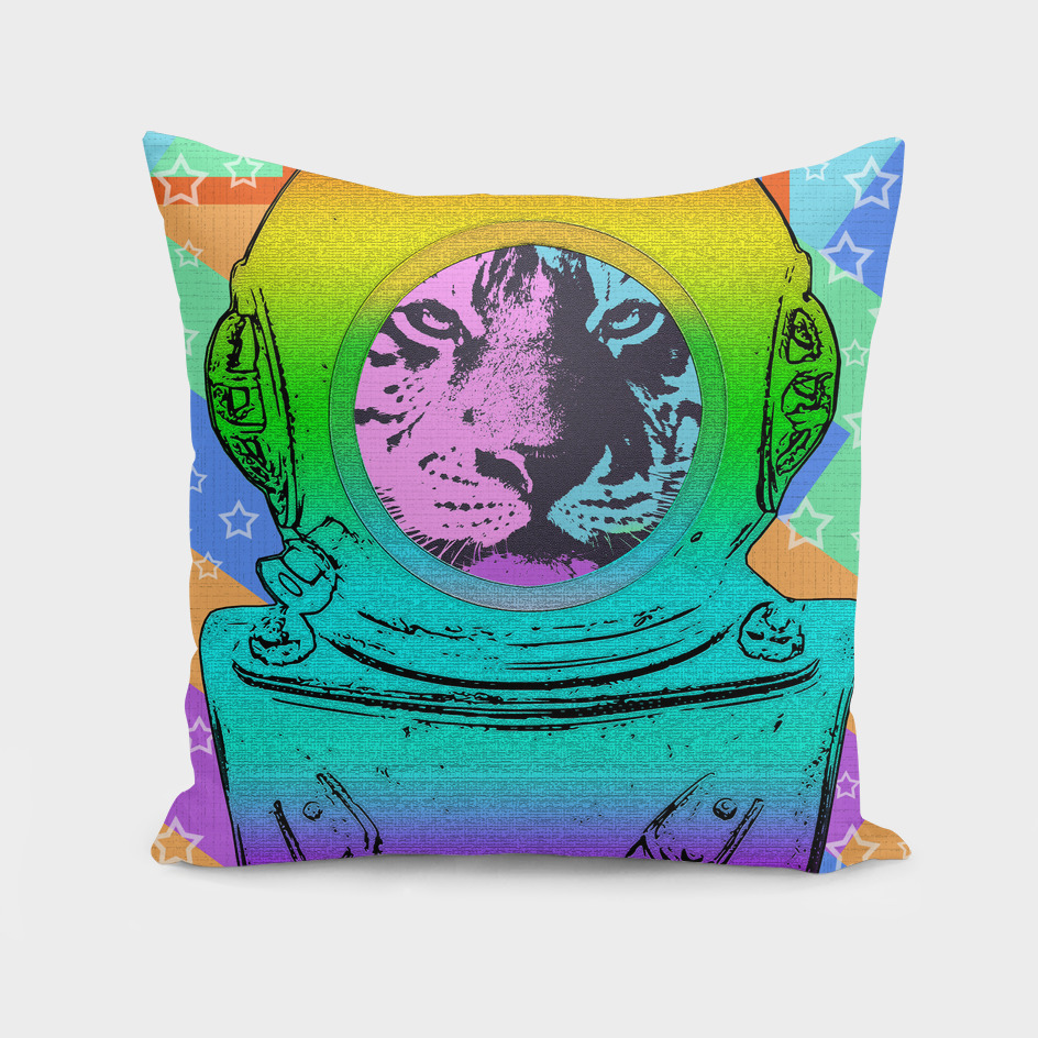 SPACE TIGER ASTRONAUT