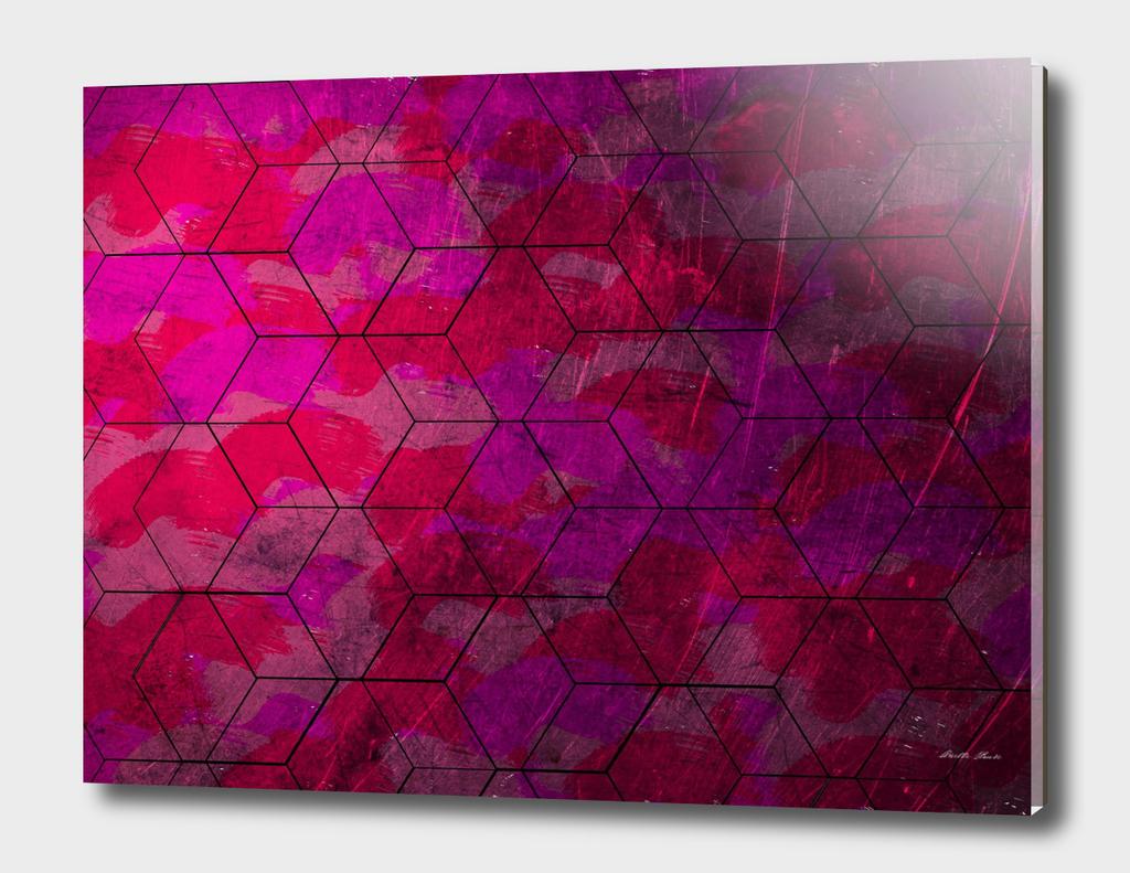 Purple Geometrics