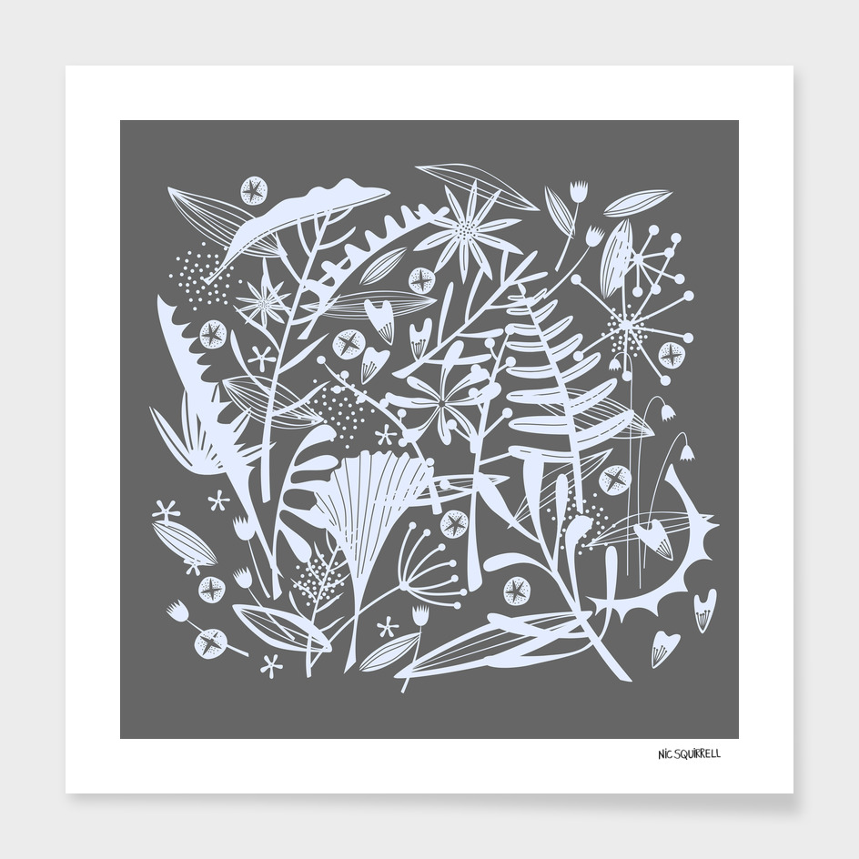 Abundance Foliage Silver
