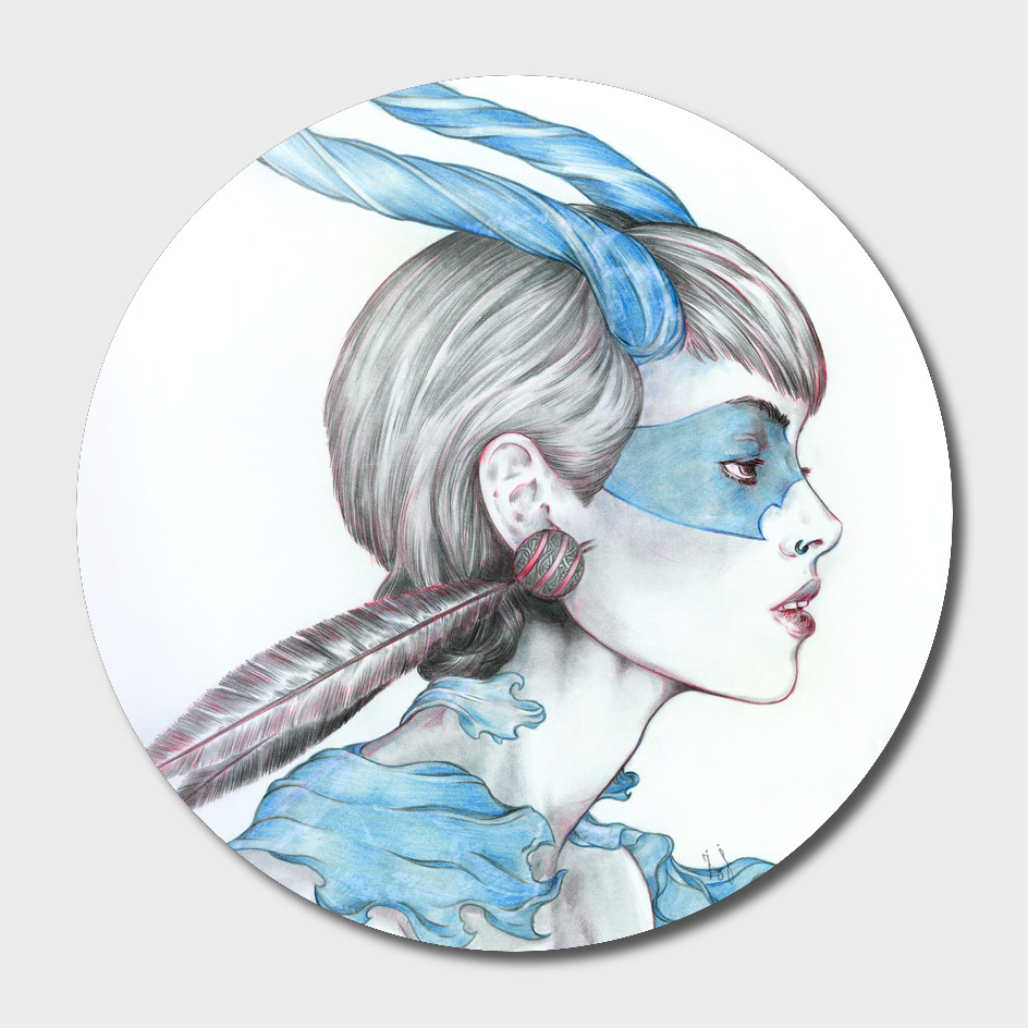 Blue Devil Woman