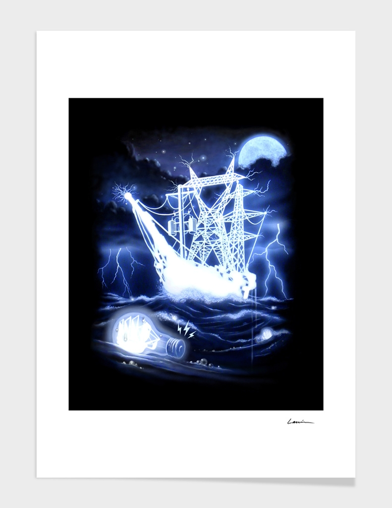 """High Voltage Ghost Ship"""