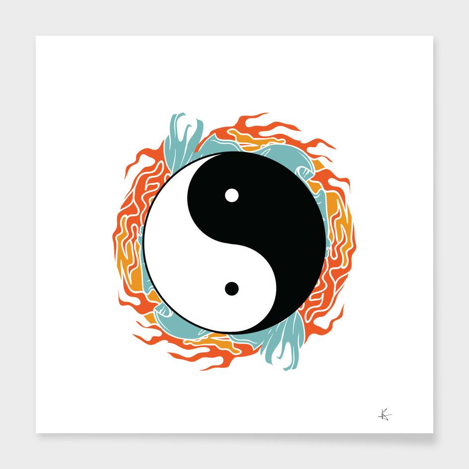 Yin Yang Hidden Forces