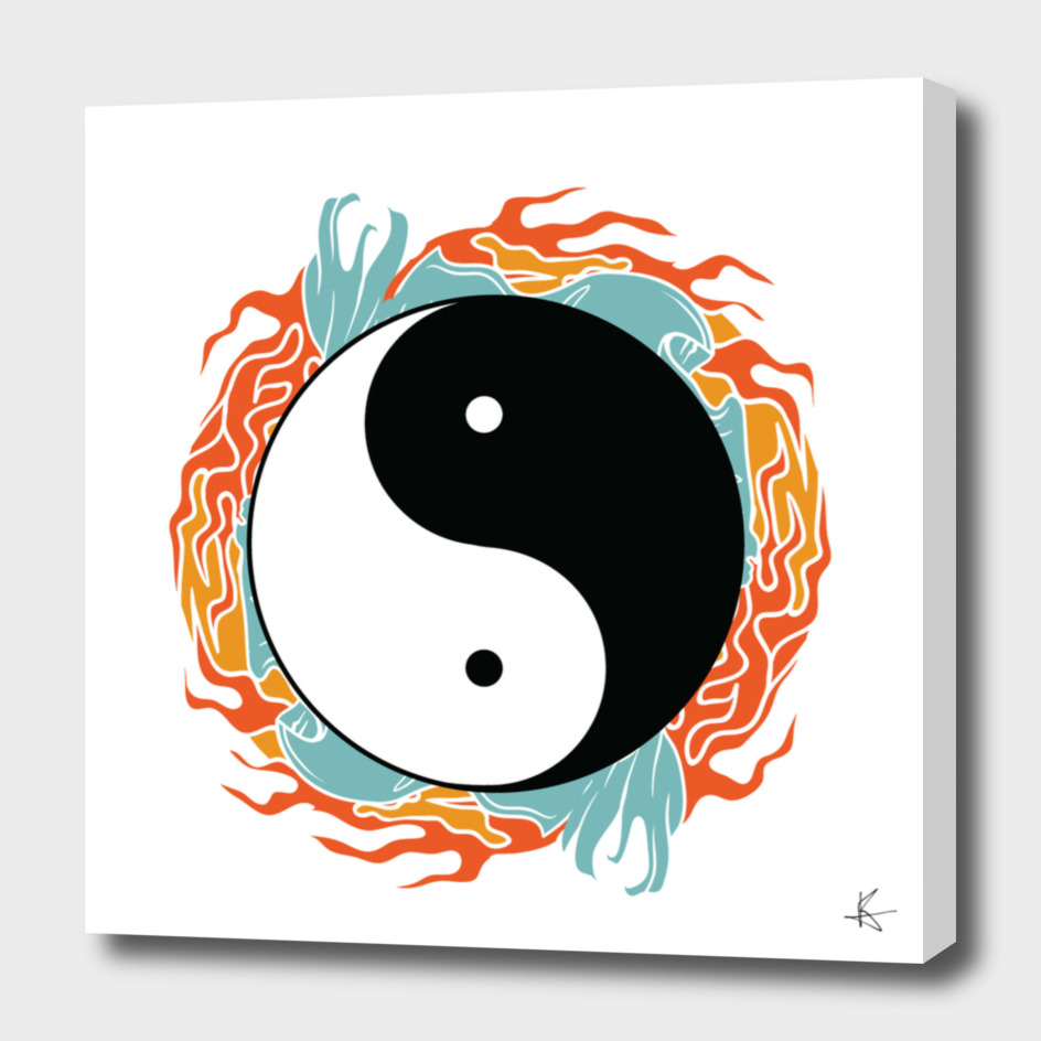 Yin Yang Hidden Forces