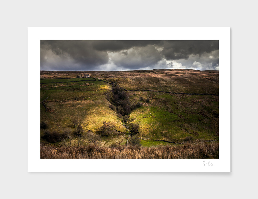 A YORKSHIRE GORGE