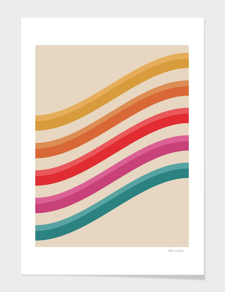 Retro Pattern - Rolling Hills #809