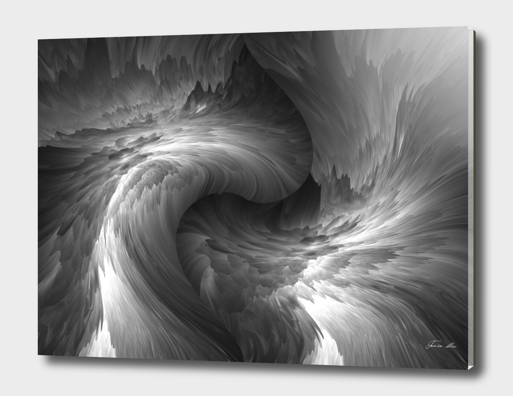 black white abstraction
