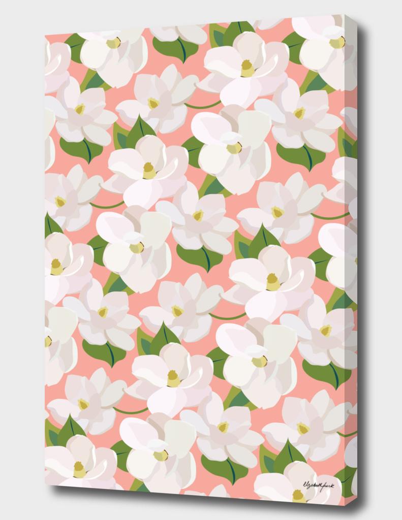 Magnolias (pink)