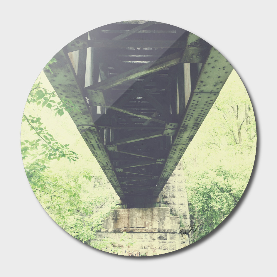 Under the Train Trestle