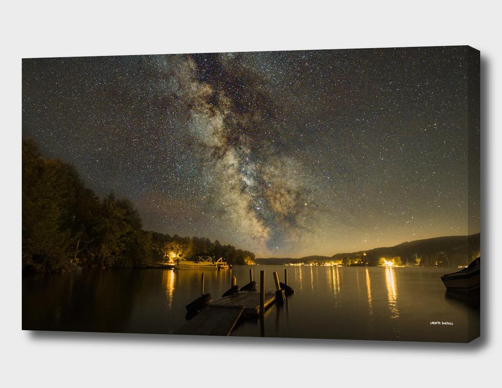 Lac Simon Milky Way