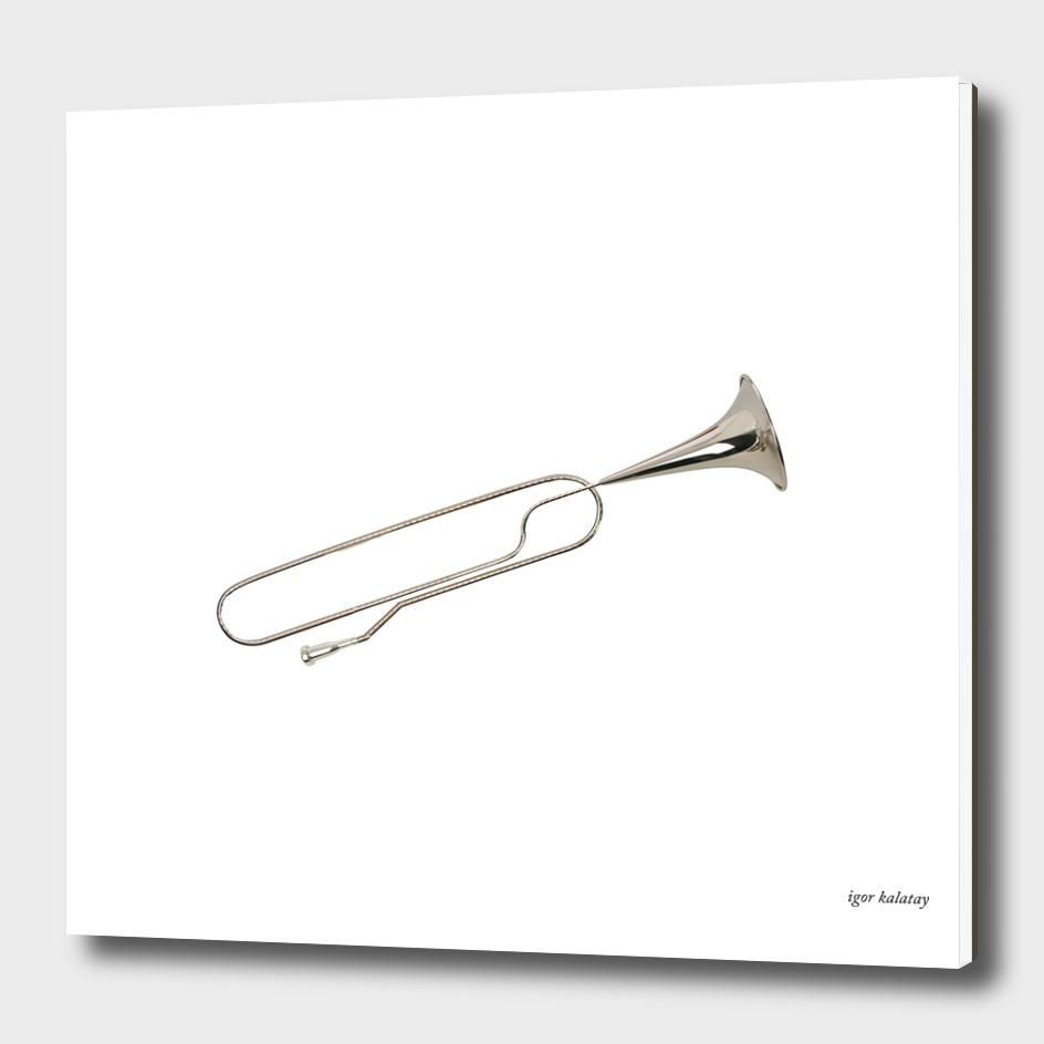 Clip or trumpet?