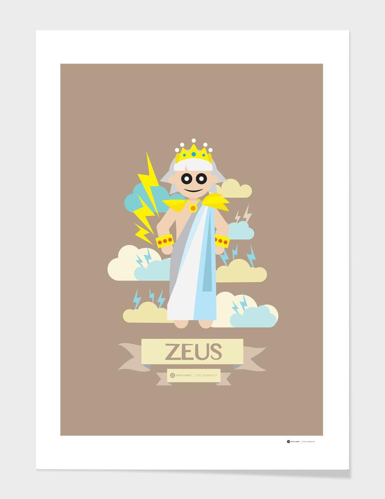 Cute Greek Mythology Zeus
