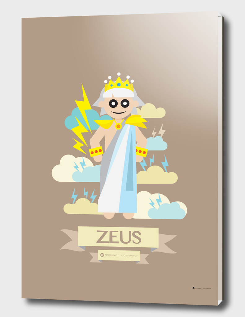 Cute Greek Mythology Zeus