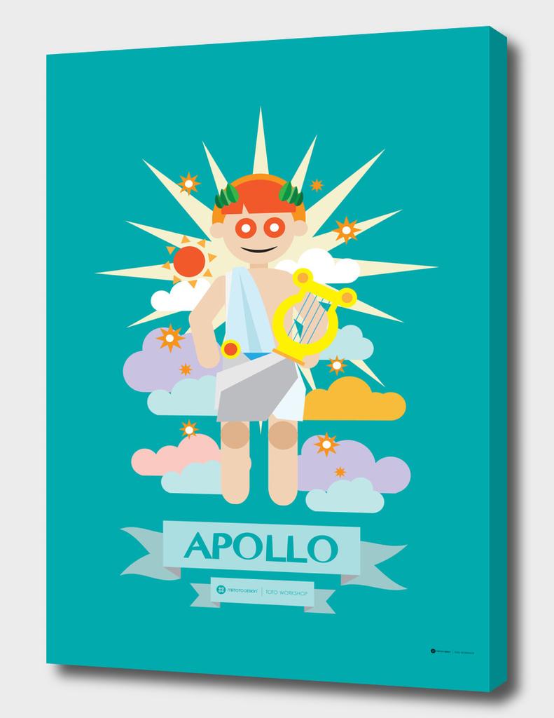 Cute Greek Mythology Apollo