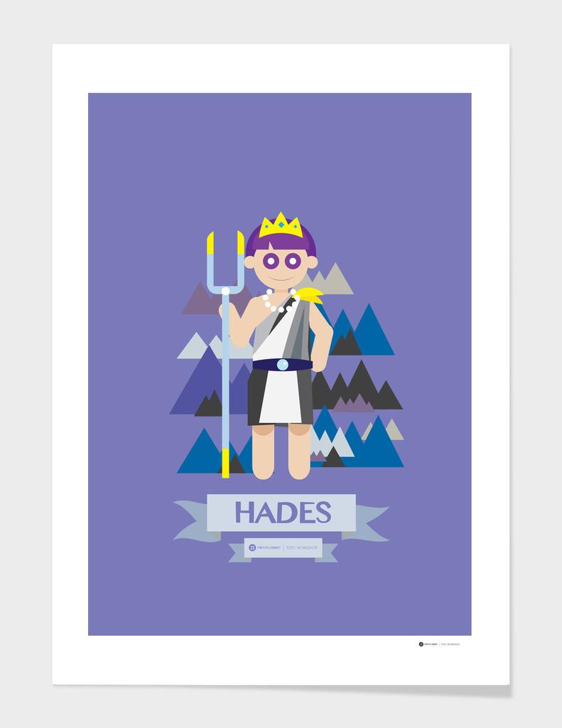 Cute Greek Mythology Hades