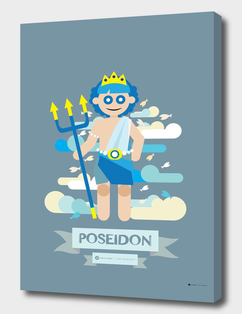 Cute Greek Mythology Poseidon