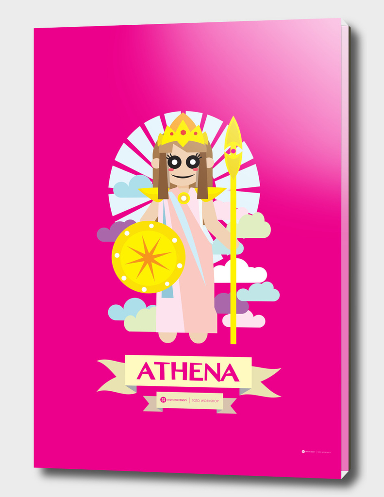 Cute Greek Mythology Athena