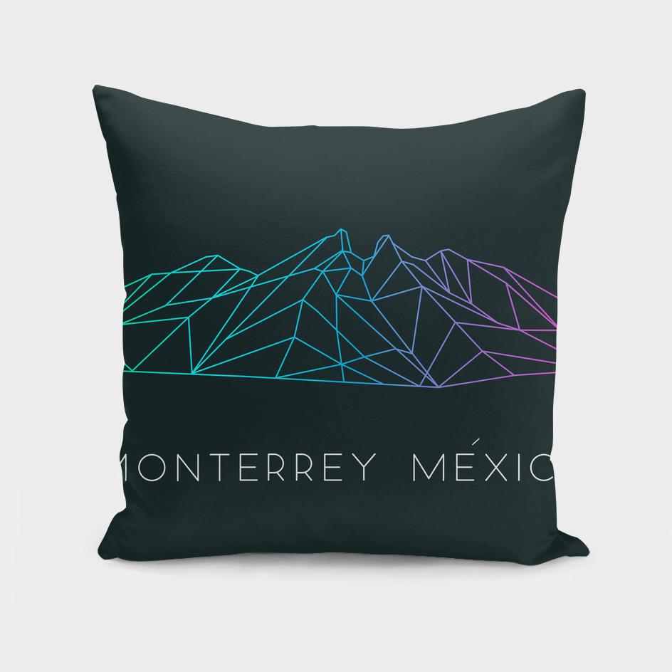 Cerro de la Silla mountain of Monterrey Mexico