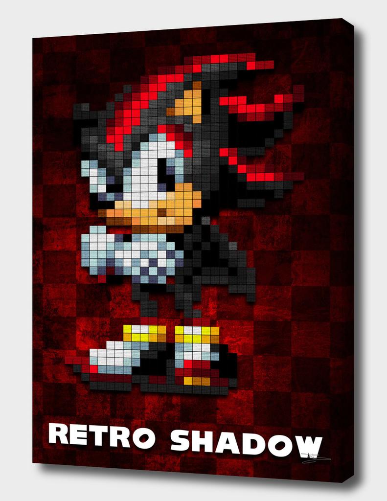 """Sonic """"Retro Shadow"""""""