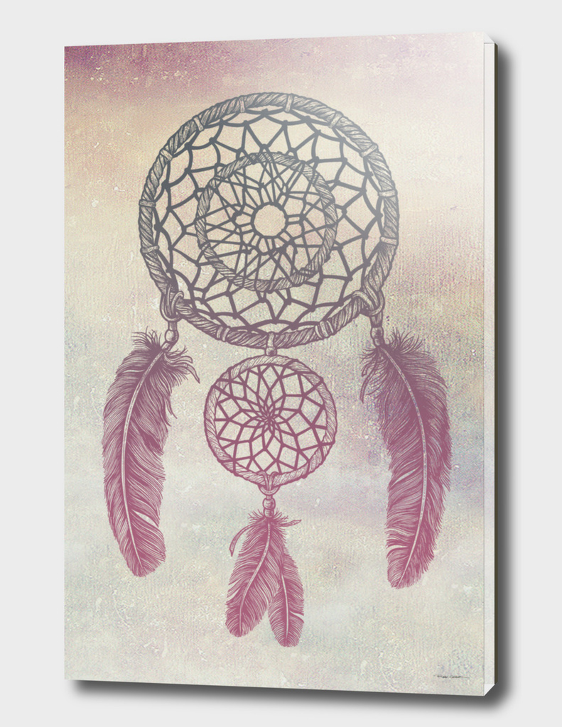 Double Dream Catcher (Rose)