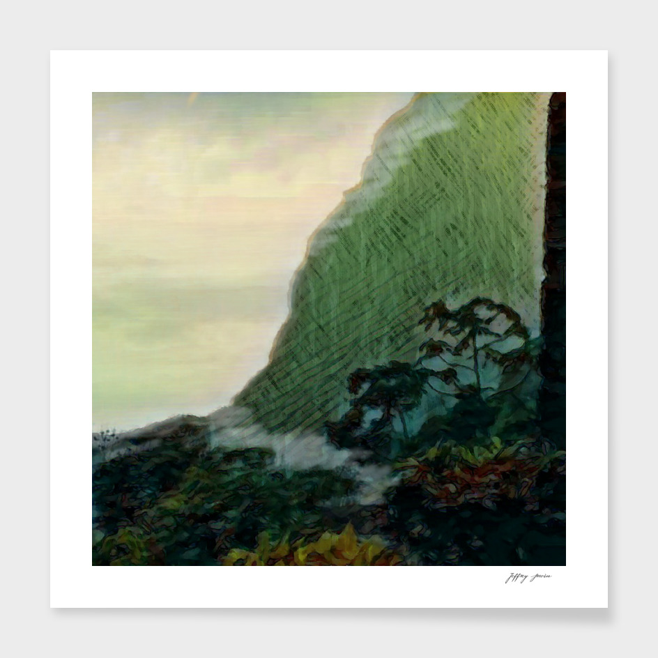 Mists In The Pitons: St. Lucia