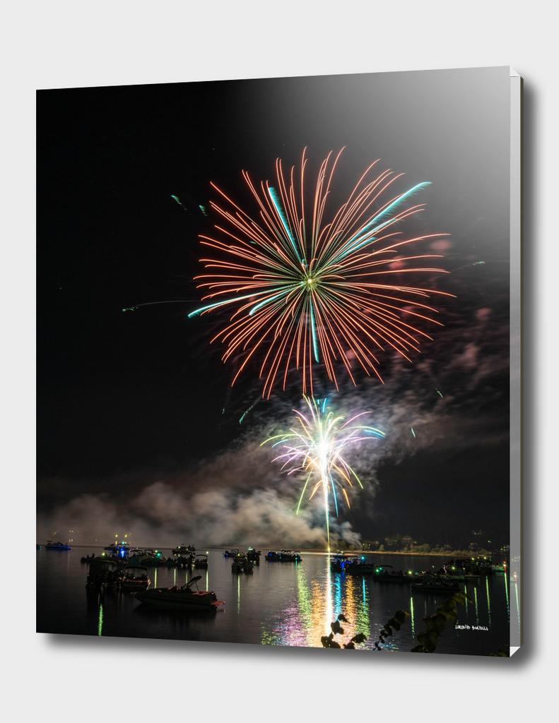 Lac Simon Fireworks
