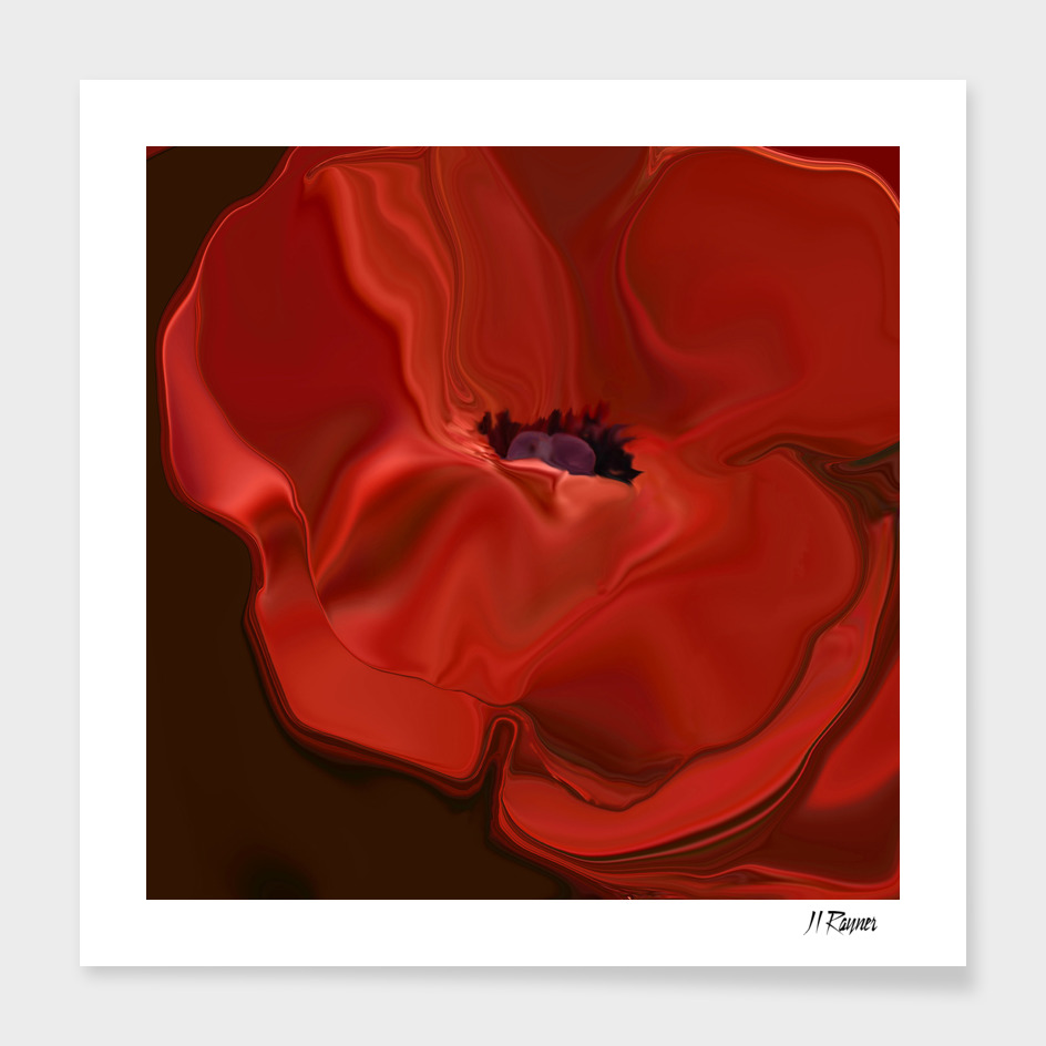 Sensuous Silk Poppy