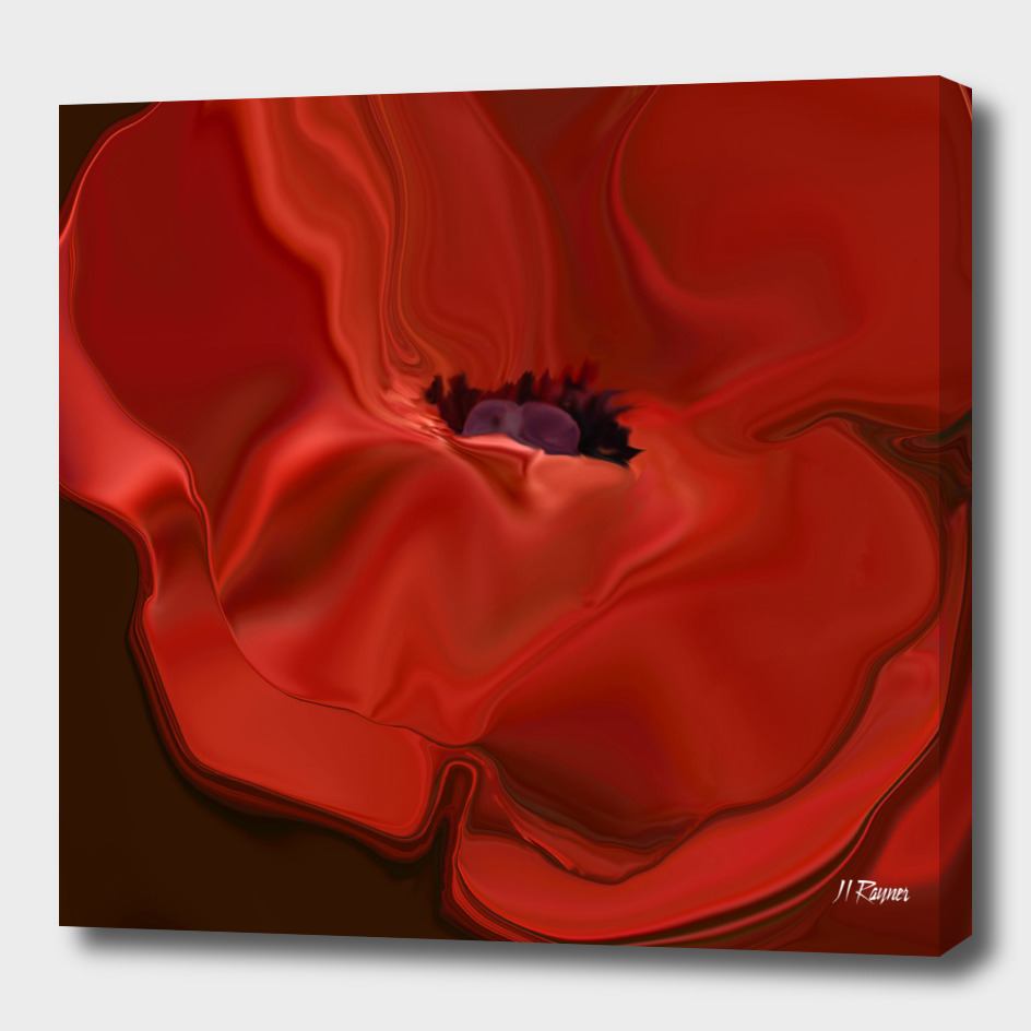 Sensuous Silk Poppy