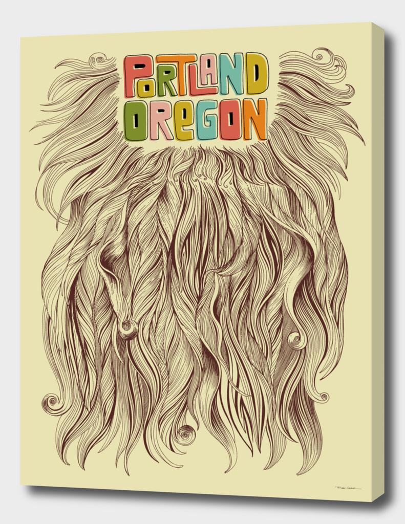Portland = Beard