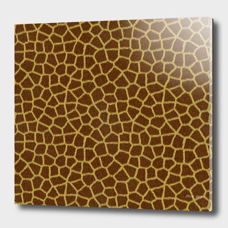 Giraffe Skin Pattern