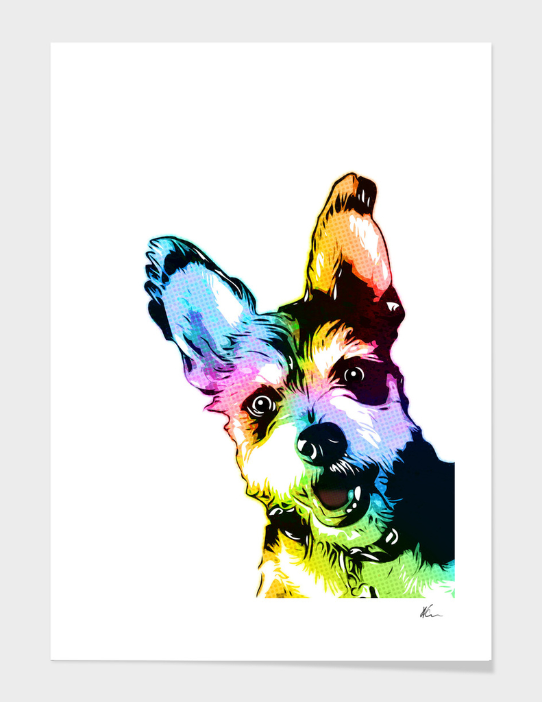 Bunker the Dog | Pop Art