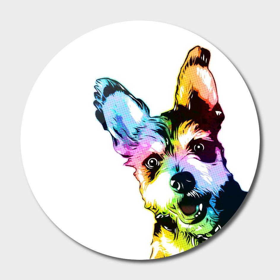 Bunker the Dog | Pop Art