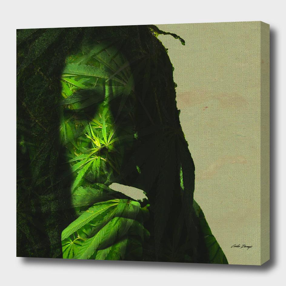 Bob Marley Ganja Blessed