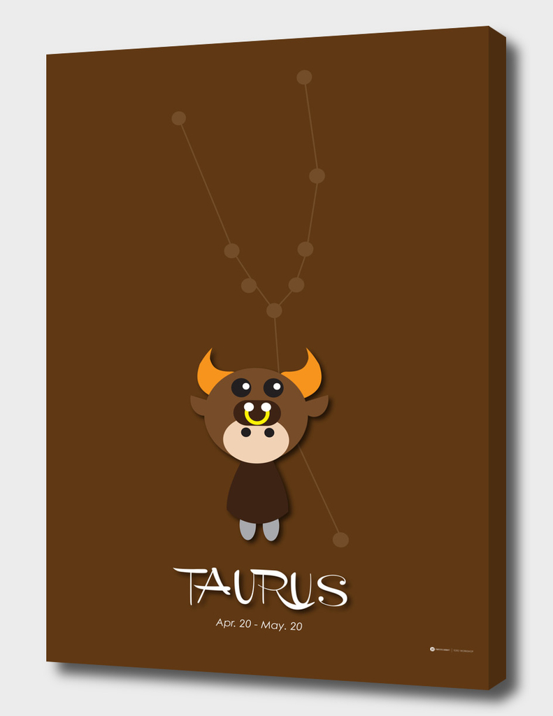 12 Constellation Character Taurus