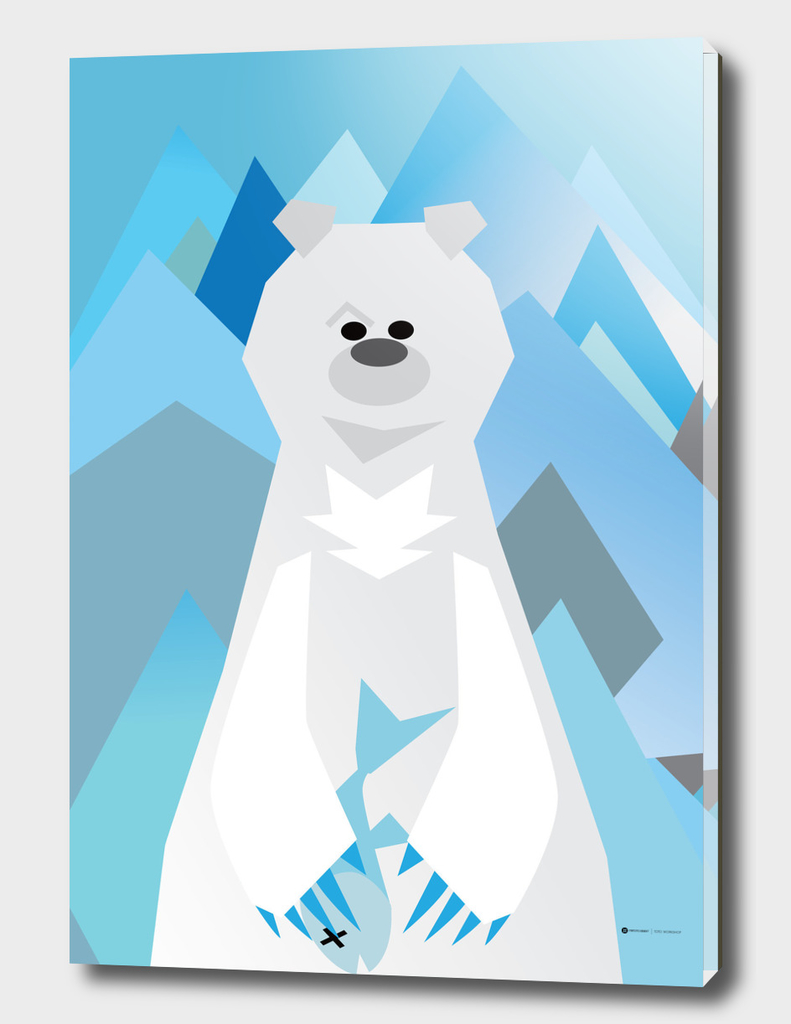 Mr. Bear Series Polar Bear