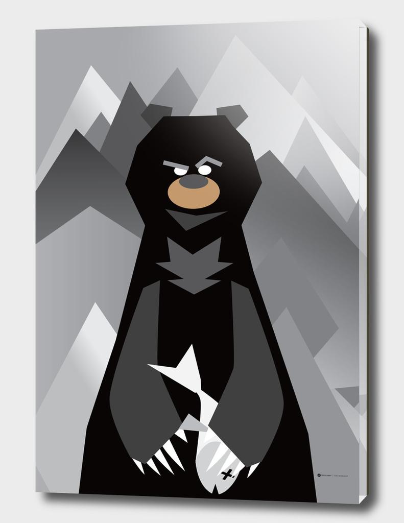 Mr. Bear Series Black Bear