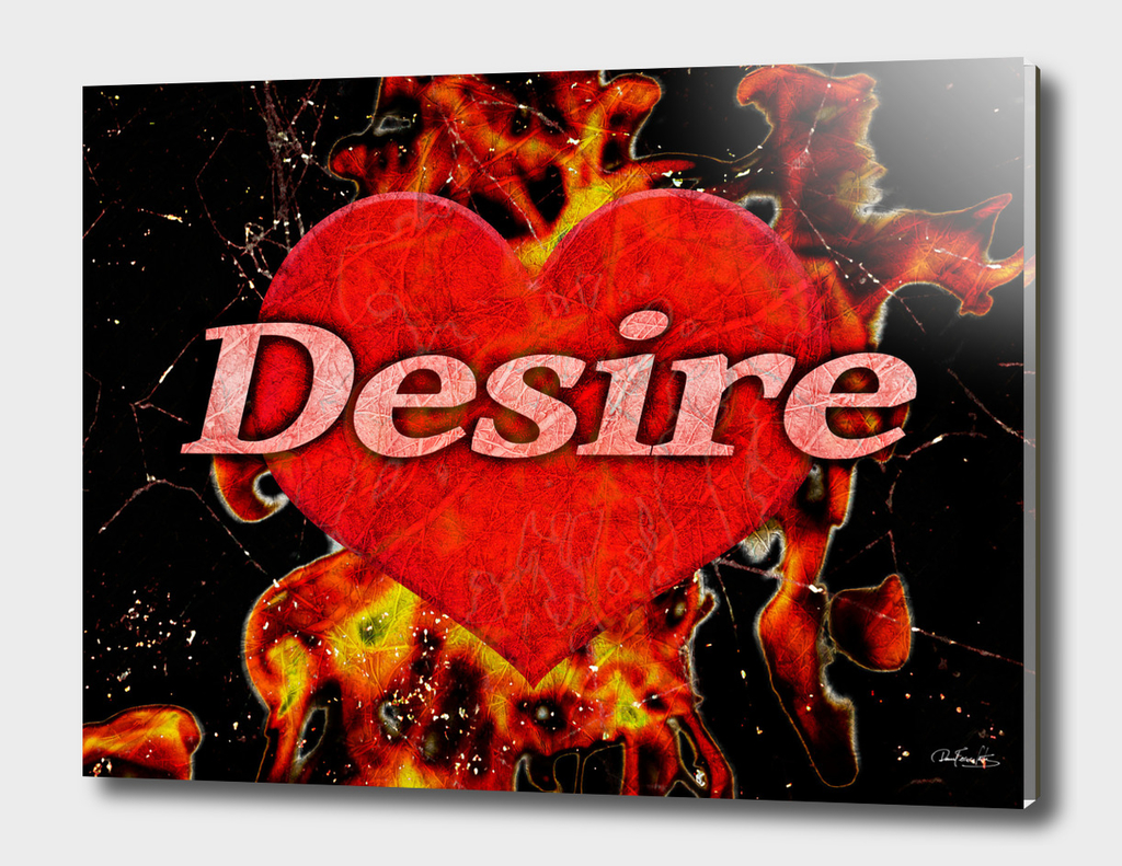 Desire Concept Background Illustration
