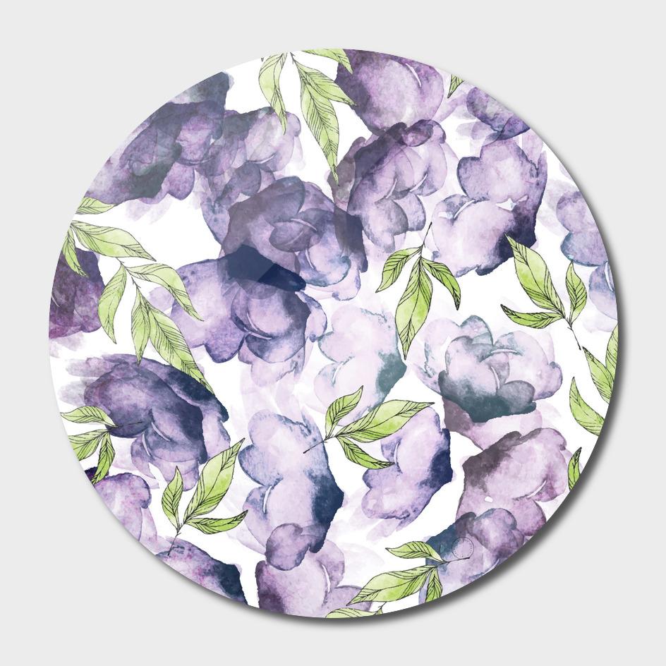 Watercolor + Ink Florals
