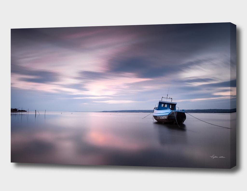 Loughor estuary boat