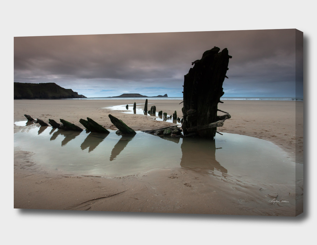 Wreck of Helvetia