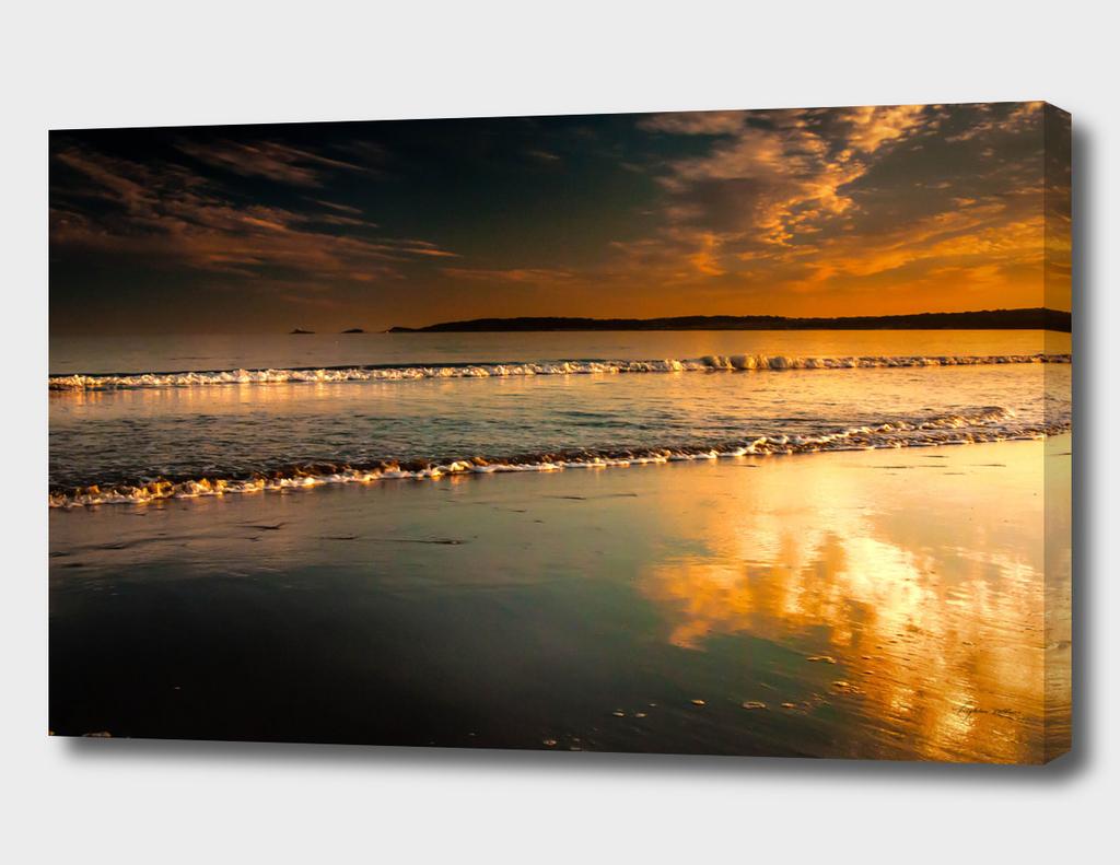 Mumbles Swansea Bay sunset